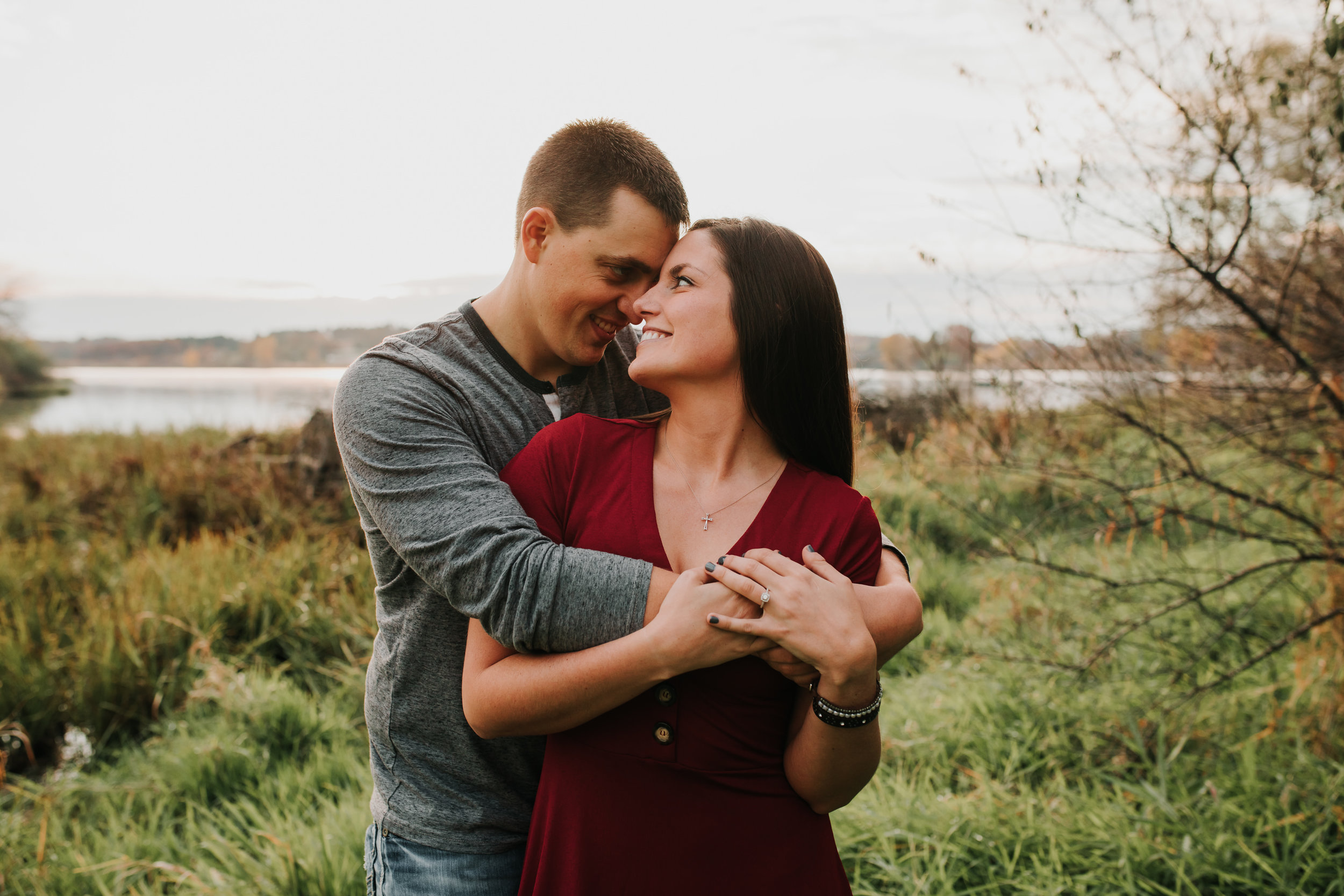 Hannah & Brett - Engaged - Nathaniel Jensen Photography - Omaha Nebraska Wedding Photograper - Omaha Nebraska Engagement Session - Chalco Hills Engagement Session-161.jpg