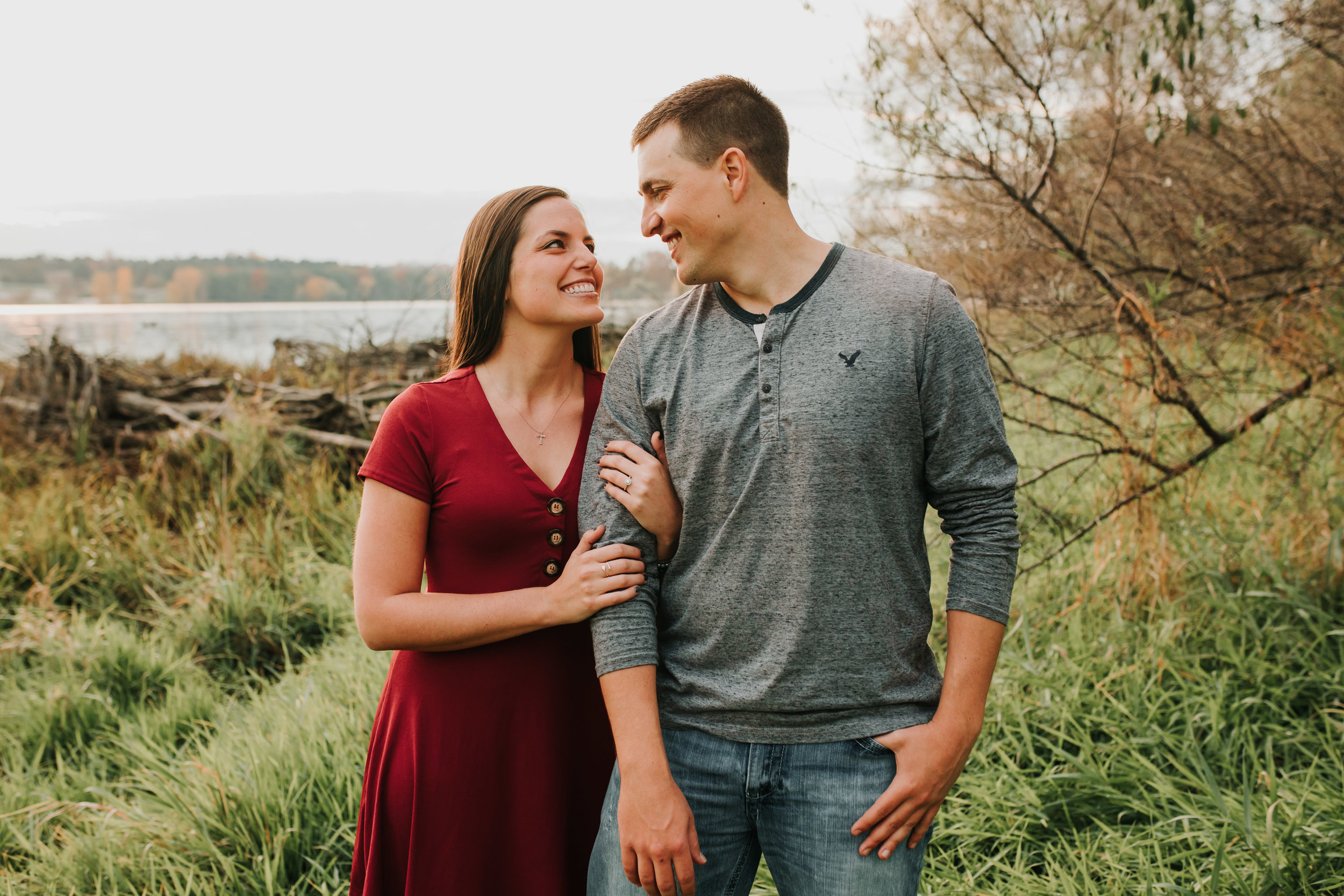 Hannah & Brett - Engaged - Nathaniel Jensen Photography - Omaha Nebraska Wedding Photograper - Omaha Nebraska Engagement Session - Chalco Hills Engagement Session-165.jpg