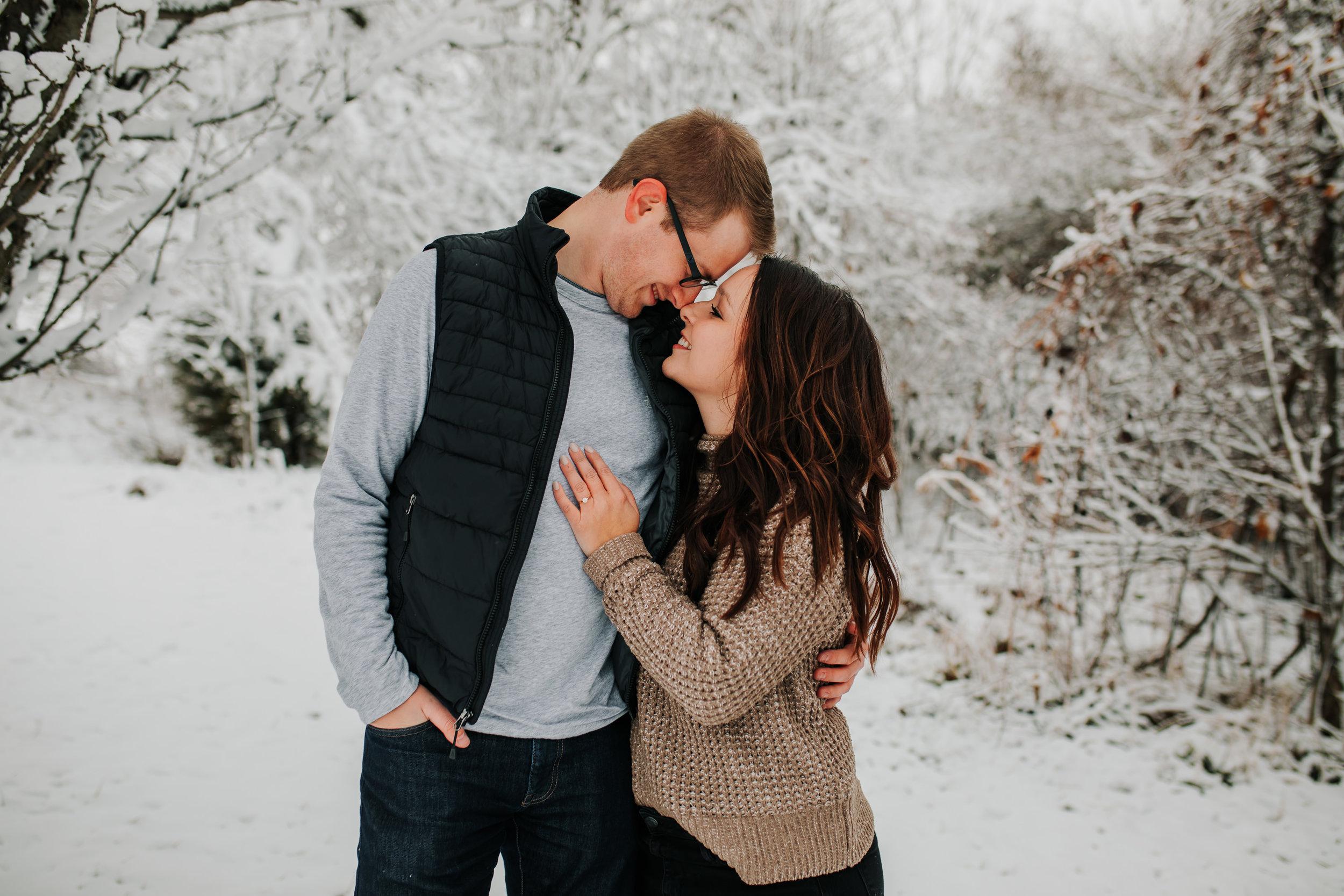 Vanessa & Dan - Engaged - Nathaniel Jensen Photography - Omaha Nebraska Wedding Photographer - Standing Bear Lake - Snowy Engagement Session-16.jpg