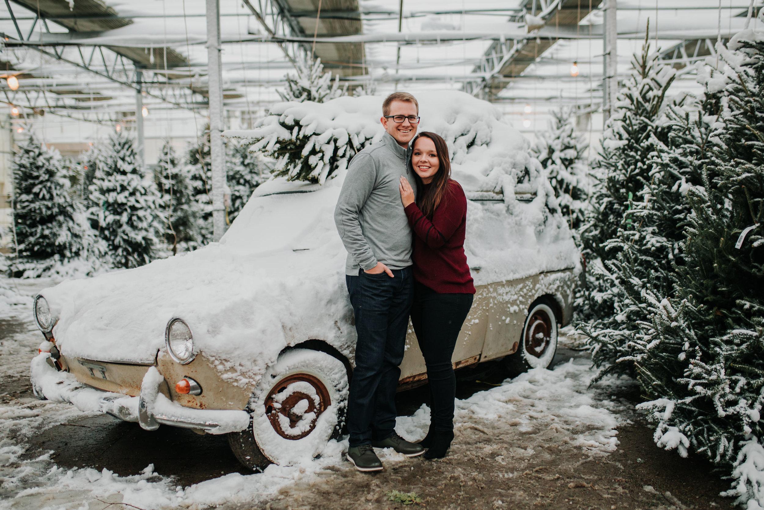 Vanessa & Dan - Engaged - Nathaniel Jensen Photography - Omaha Nebraska Wedding Photographer - Standing Bear Lake - Snowy Engagement Session-83.jpg