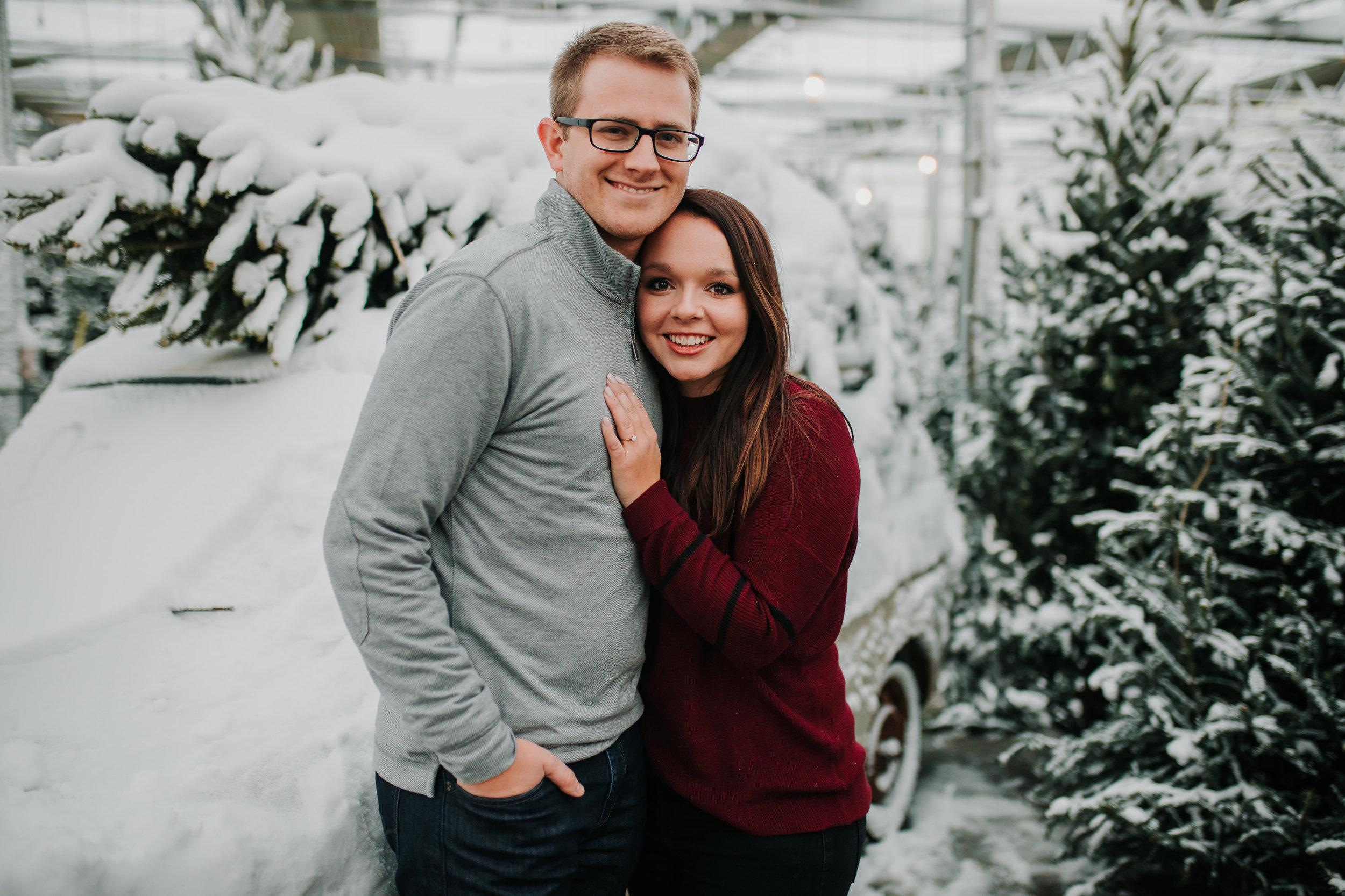 Vanessa & Dan - Engaged - Nathaniel Jensen Photography - Omaha Nebraska Wedding Photographer - Standing Bear Lake - Snowy Engagement Session-84.jpg