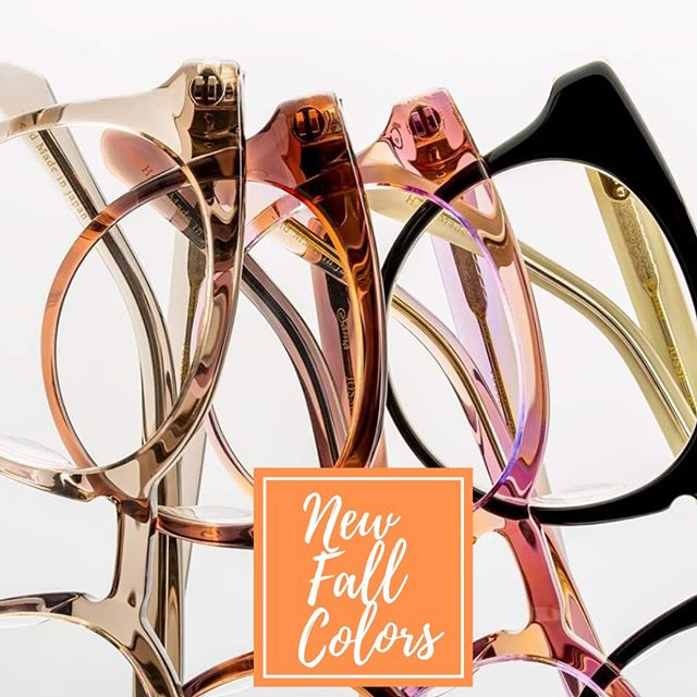 Checkout 👀 the new fall colors from @samaeyewear