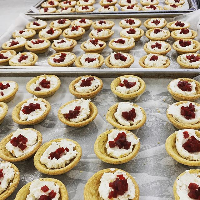 Let's get tarty #catering #functions #canapes #tarts #party #cheflife #restaurantsaustralia