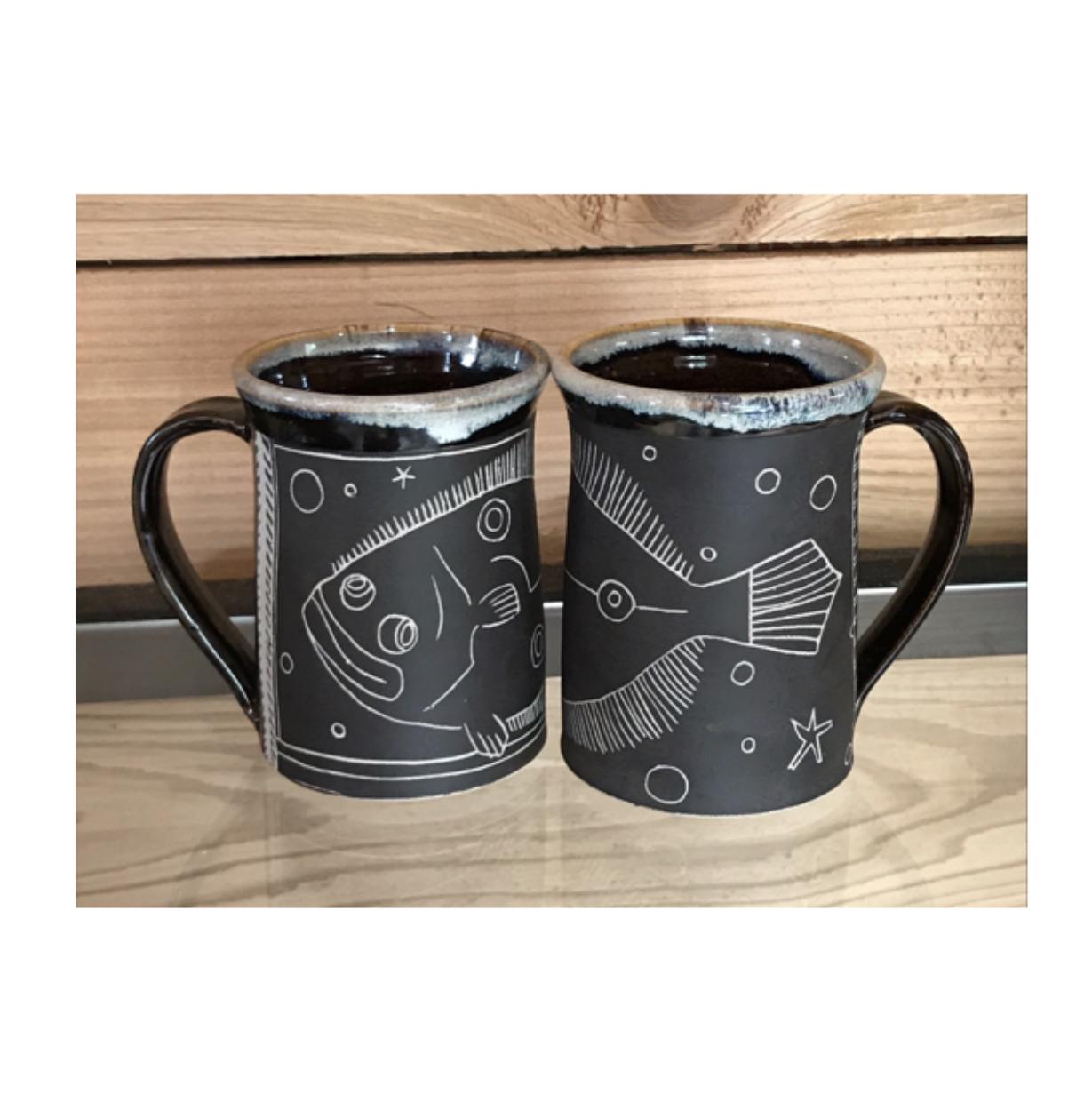 Flounder Mugs
