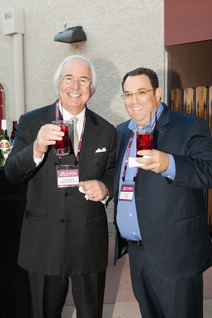 Frank Abagnale and Ori Eisen