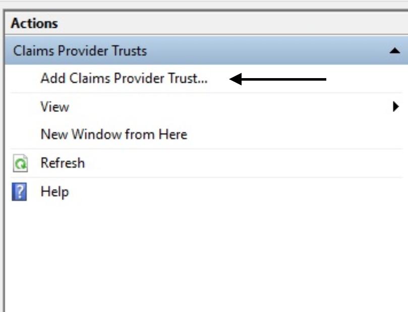 Claims Provider Trust