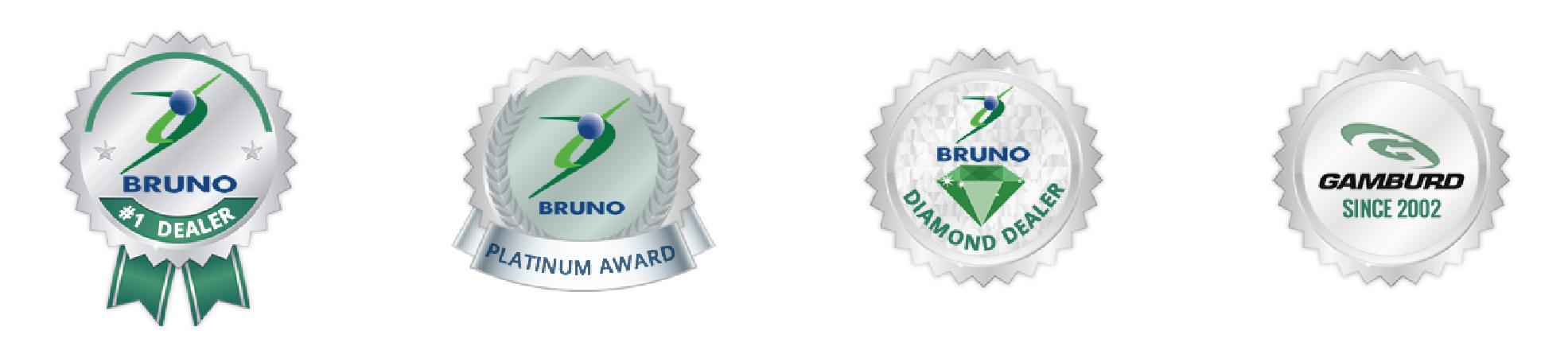 Gamburd award badges