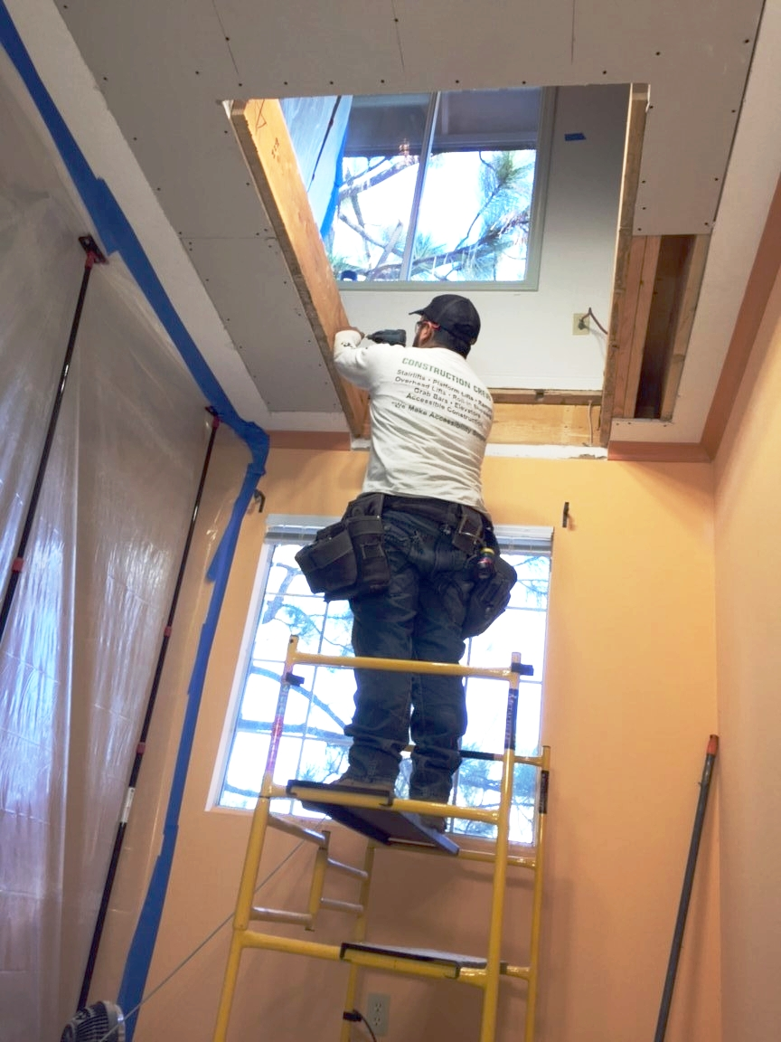 Home Modifications is Our Secret Recipe. - When you buy a Wessex lift, it will require construction to allow for the opening between floors, framing, drywall, patch, electrical work and more. With other contractors, you would be dealing with 3 or 4 different companies. We make things easy, no finger pointing. When you buy a product from us, we do the whole job from A to Z.