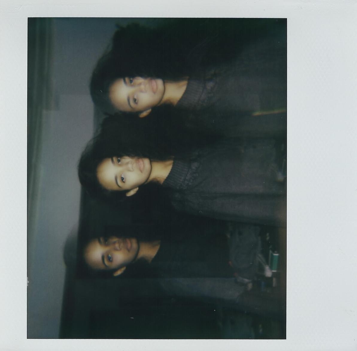 Anabel shot on my Polaroid Spectra -- Brooklyn, NY -- February 2017