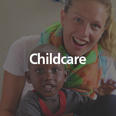 Childcare   Assist the school matrons in taking care of younger students.