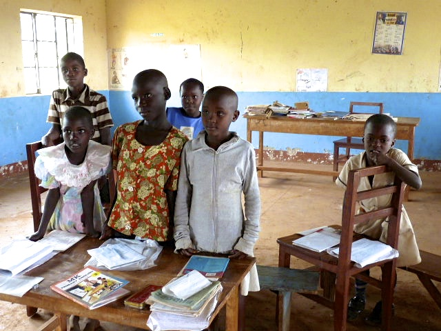 A government school in Uganda