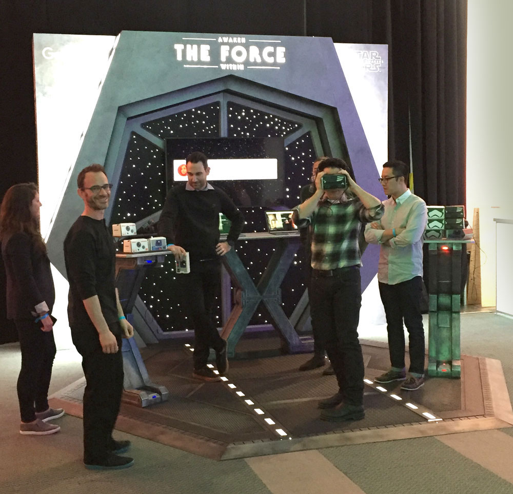 """""""Star Wars Episode VII""""Director J.J. Abrams at """"Awaken The Force Within""""physical experience"""