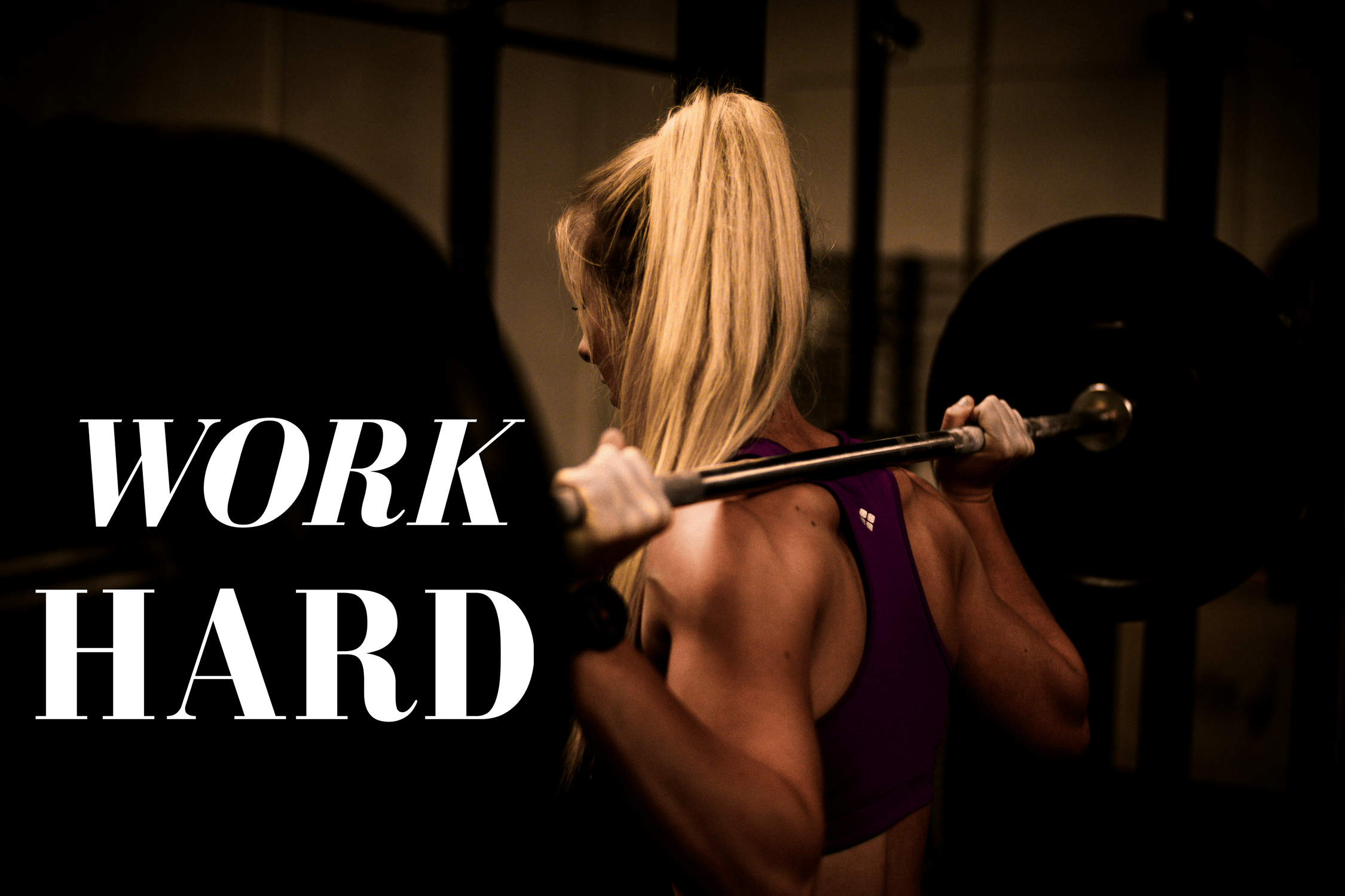 work hard women