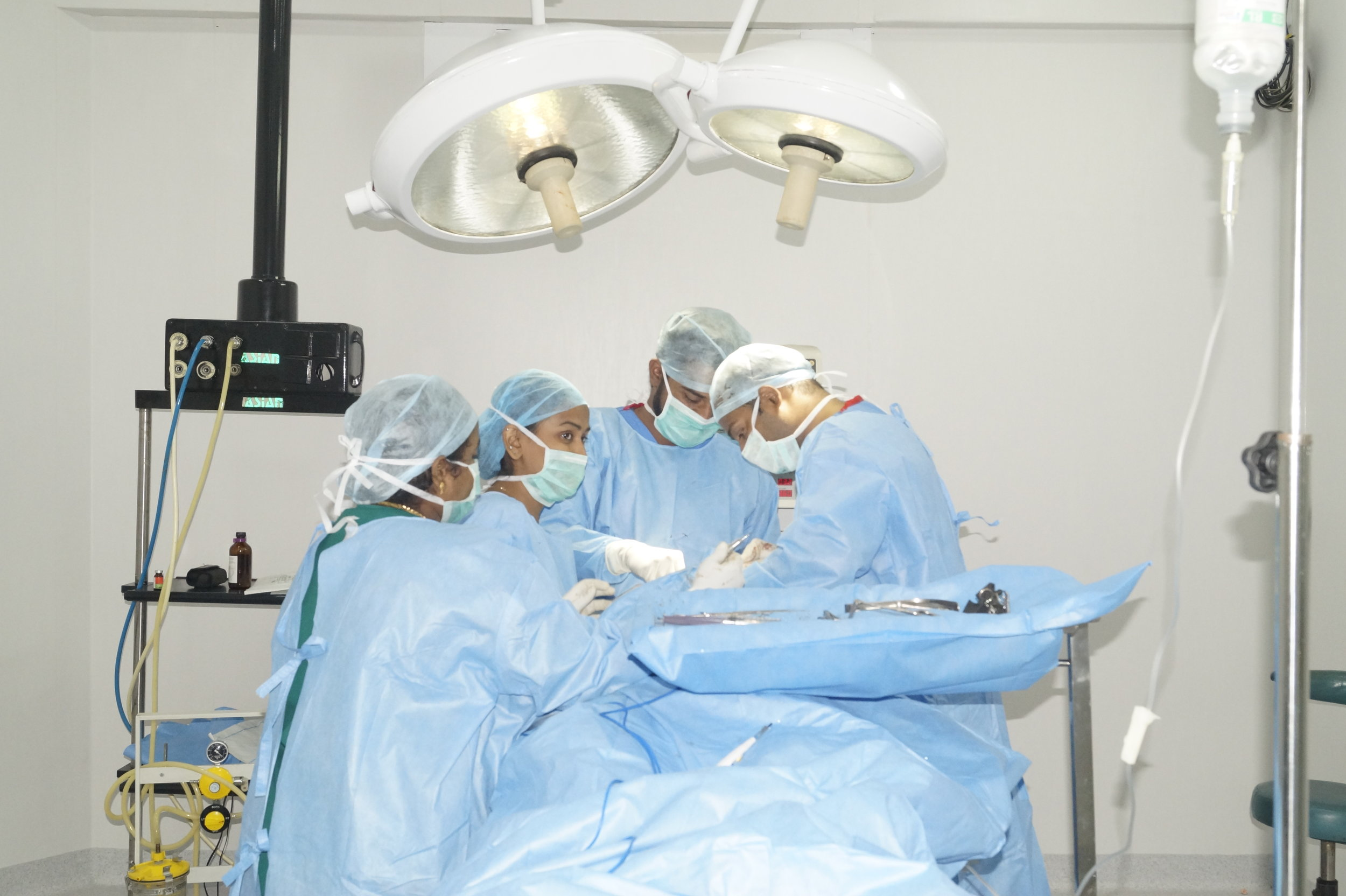 On of the few Institutes where all kinds of maxillofacial procedures are performed -
