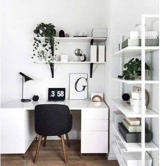 🤓 Light and Bright office space ☀️How would you style your office space?
