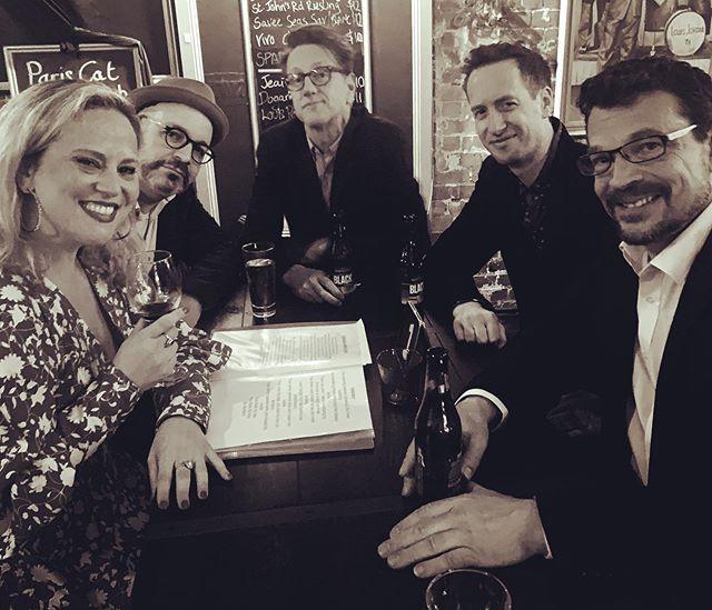 Great gig at Paris Cat last night doing our Ella & Louis show. These fellas. These bloody beautiful fellas🎶💕 #ellaandlouis #cheektocheek #swing #jazz #jazzsinger #jazzvocalist #tamarakuldin #sextet #fullhouse #pariscatjazzclub #beautifulband #livemusic #nextshowoctober19 #trumpet #whattodoinmelbourne #jazzmusicians #enjoyeveryminute #vintagefeels #femalevocalist #livejazz #iminheaven