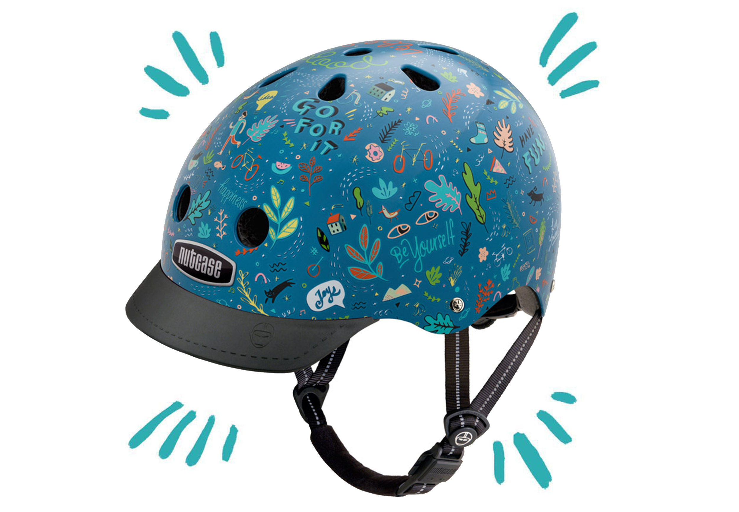 Unframed Limited Edition Helmet with  Nutcase Helmets