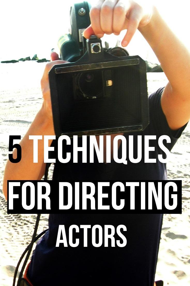 Filmmaking tips directing actors