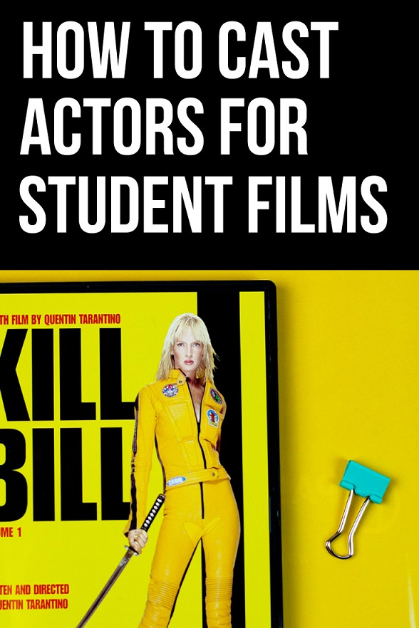 how to find actors for student films