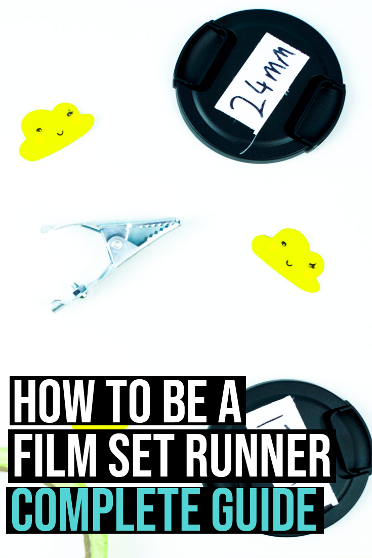 How to be a runner on a film set.