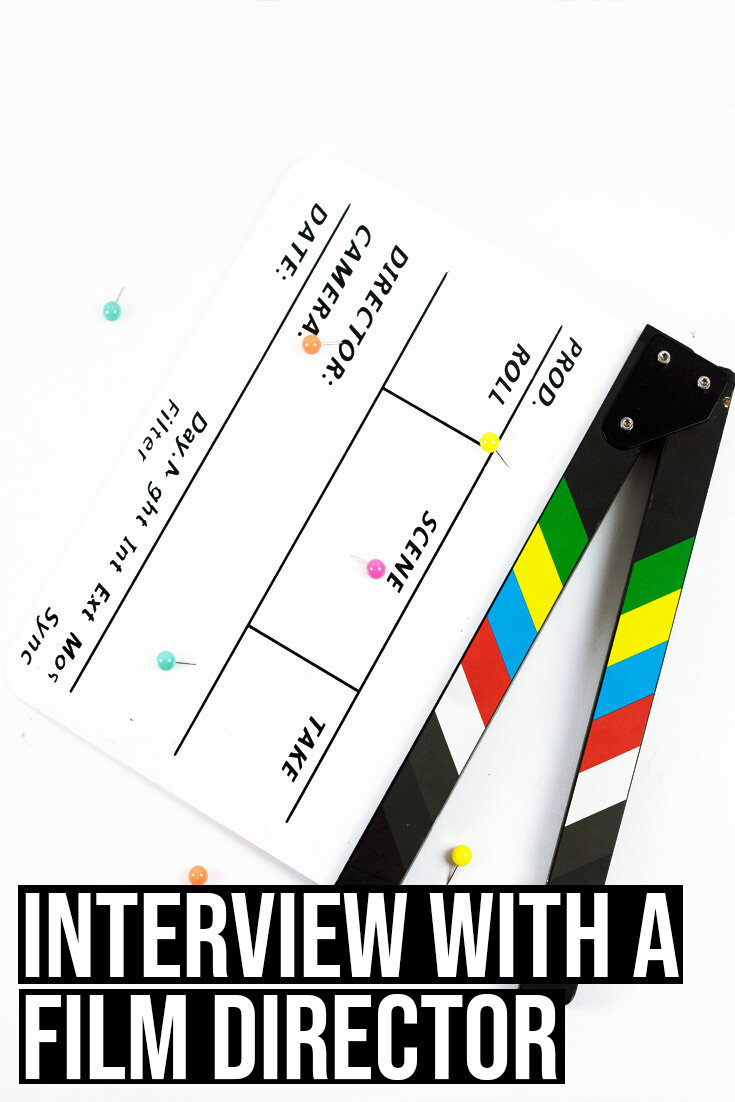 Interview with film diretcor George Popov.
