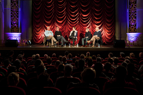 The Tyneside Cinema, Chris Phipps chats with Roger Bamford, Franc Roddam, Ian La Frenais and Dick Clement.