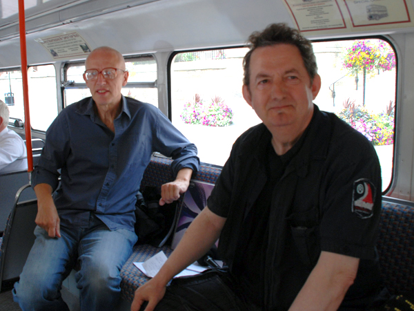 The early tours were hosted by the dream team double act of Ray Laidlaw and Chris Phipps.