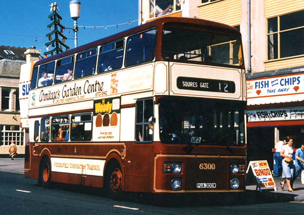 Our second bus, to replace the retired Routemaster, this is our Leyland Atlantean in its original Huddersfield livery...