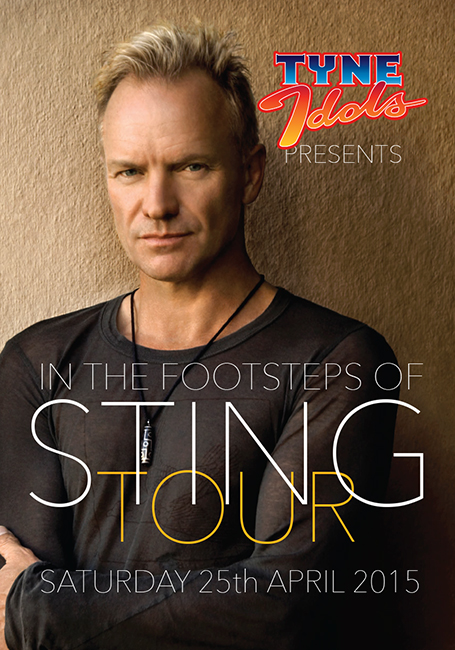Approached by the Sting International Fan Club to concoct a Sting-centric tour, we obliged. They loved it!