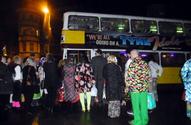 Another success... a rather debonair party from Floppsie Cullen, Tynemouth enjoyed a great night out on Saturday 11 March, 2017.