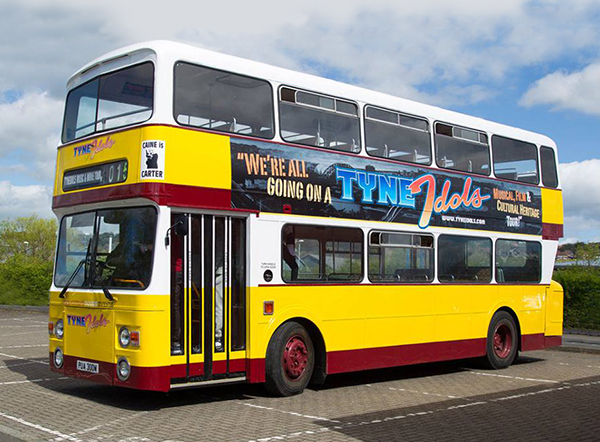 ...and again in a fresh coat of Newcastle Busways yellow and burgundy.