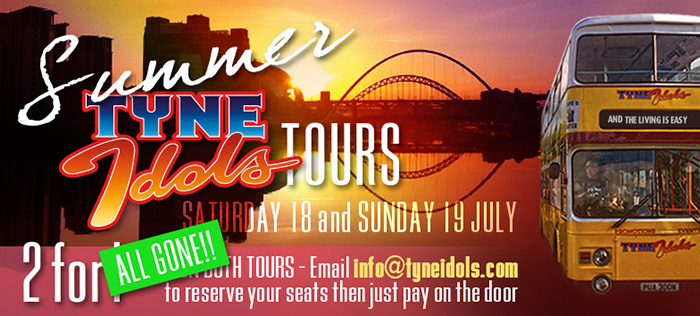 Graphic for our 2015 SummerTyne season.