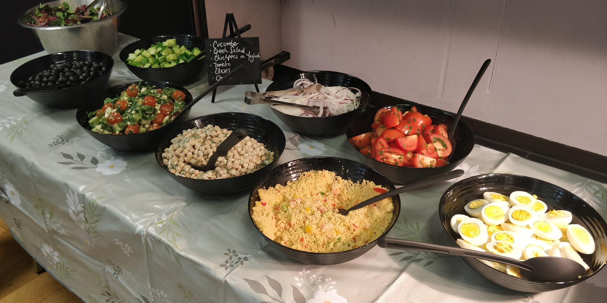 Catering Menu - Catering available for all types of events