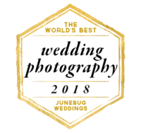 Listed as on of the best wedding photographers by Junebug Weddings