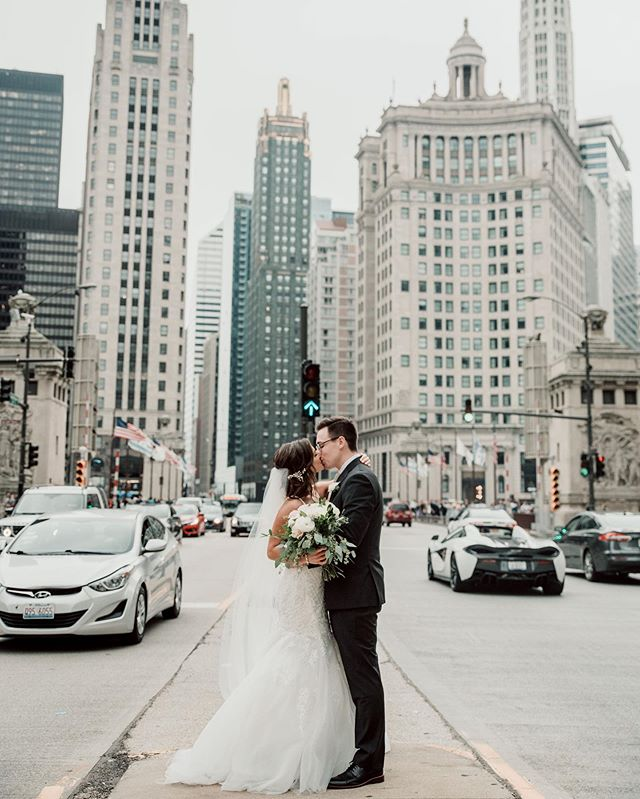 Sending off Val and Kody today!  Also, my season of Chicago weddings is over for now.  I'm going to miss my city weddings!