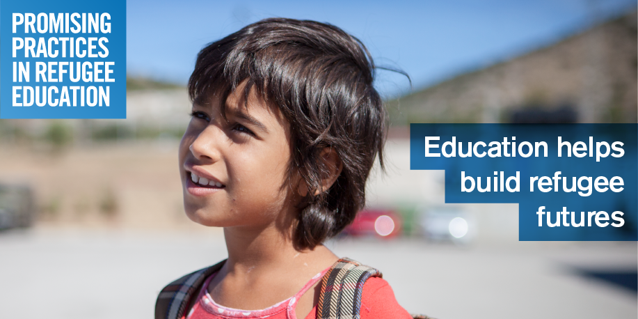 Education helps build refugee futures. Submit your #promisingpractices www.promisingpractices.online