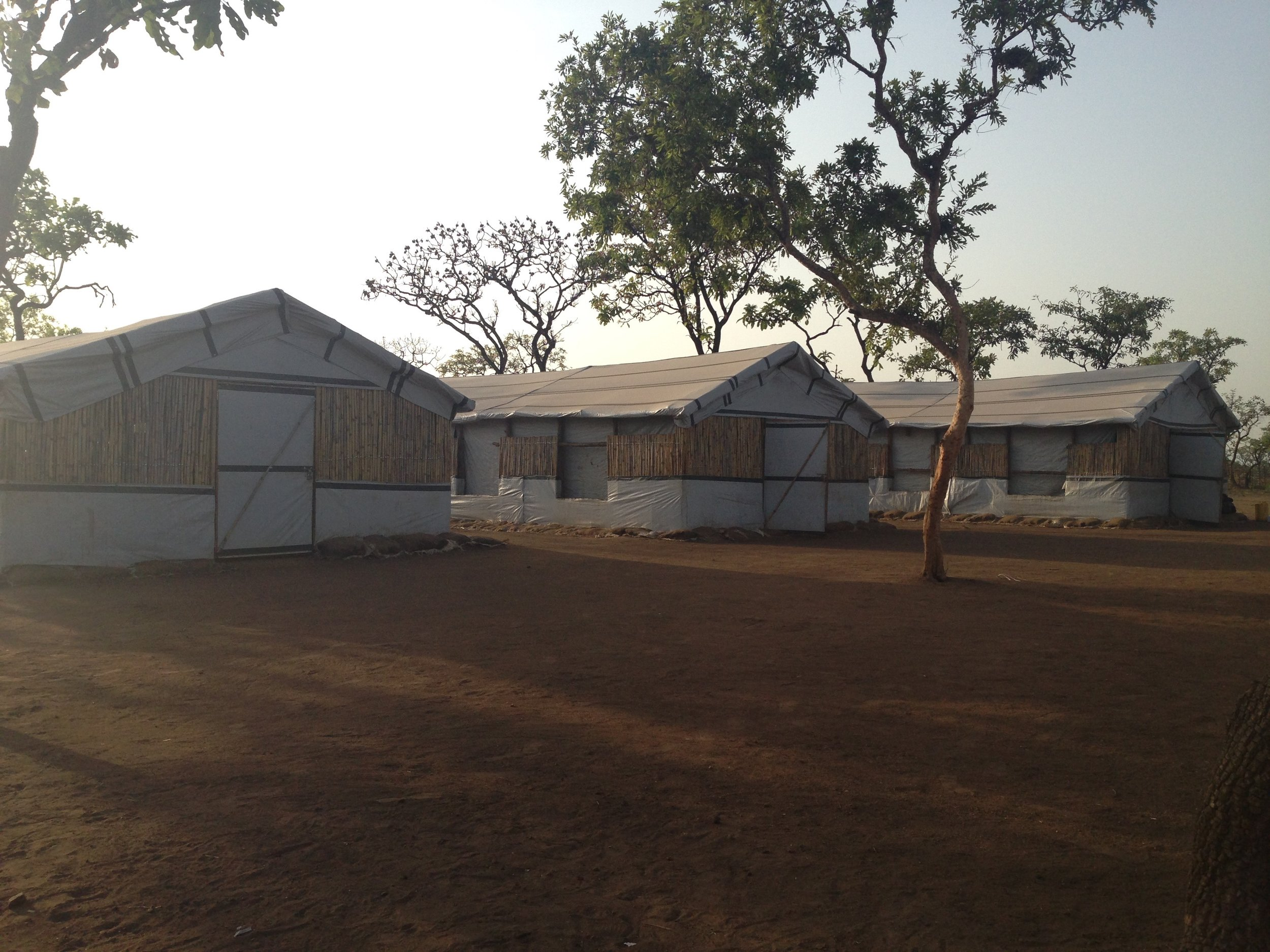 Three Child Friendly Spaces used as ECD centres in the morning and as spaces for adolescent and youth in the afternoon.