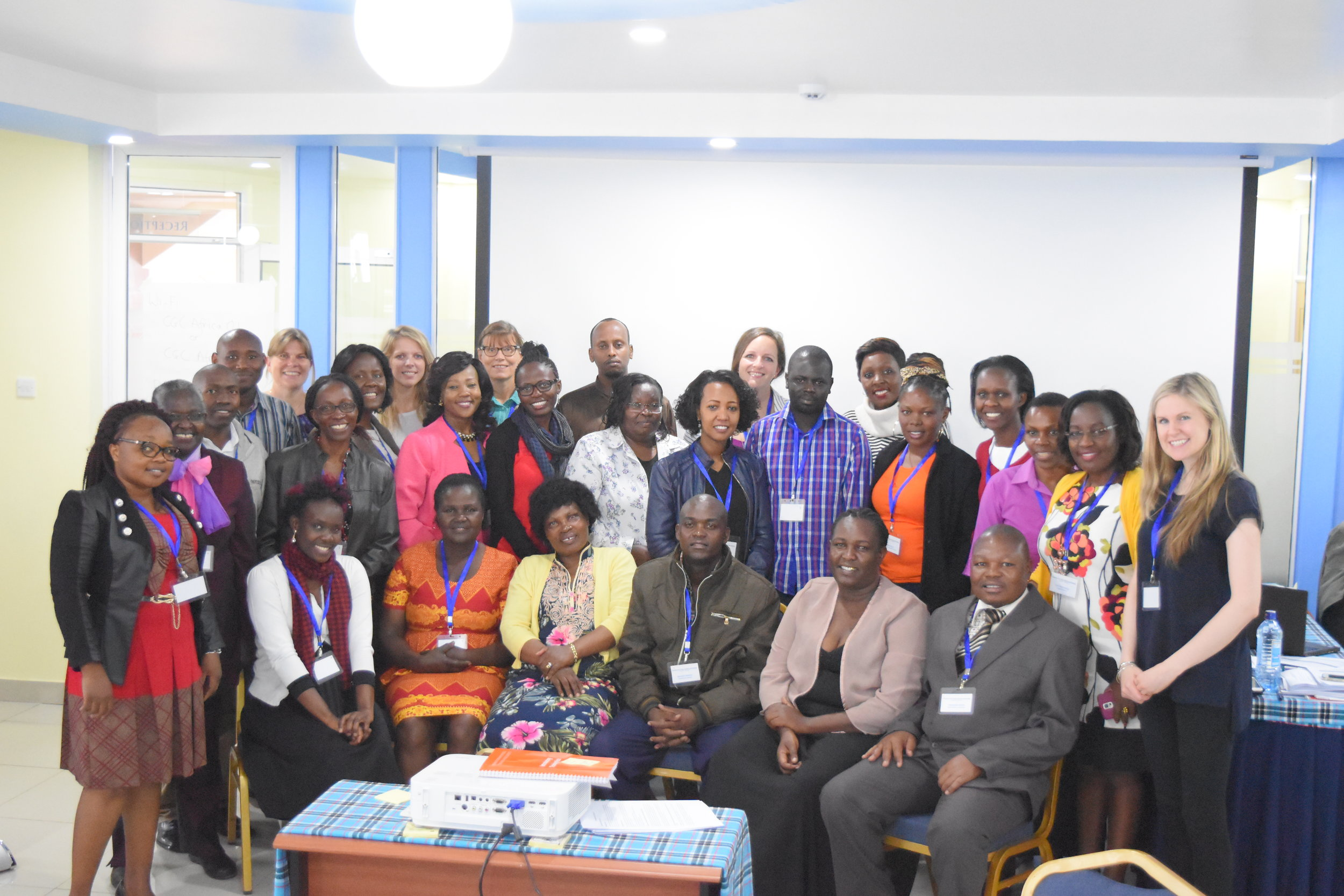 Inter-agency contextualisation and implementation workshop in Nairobi