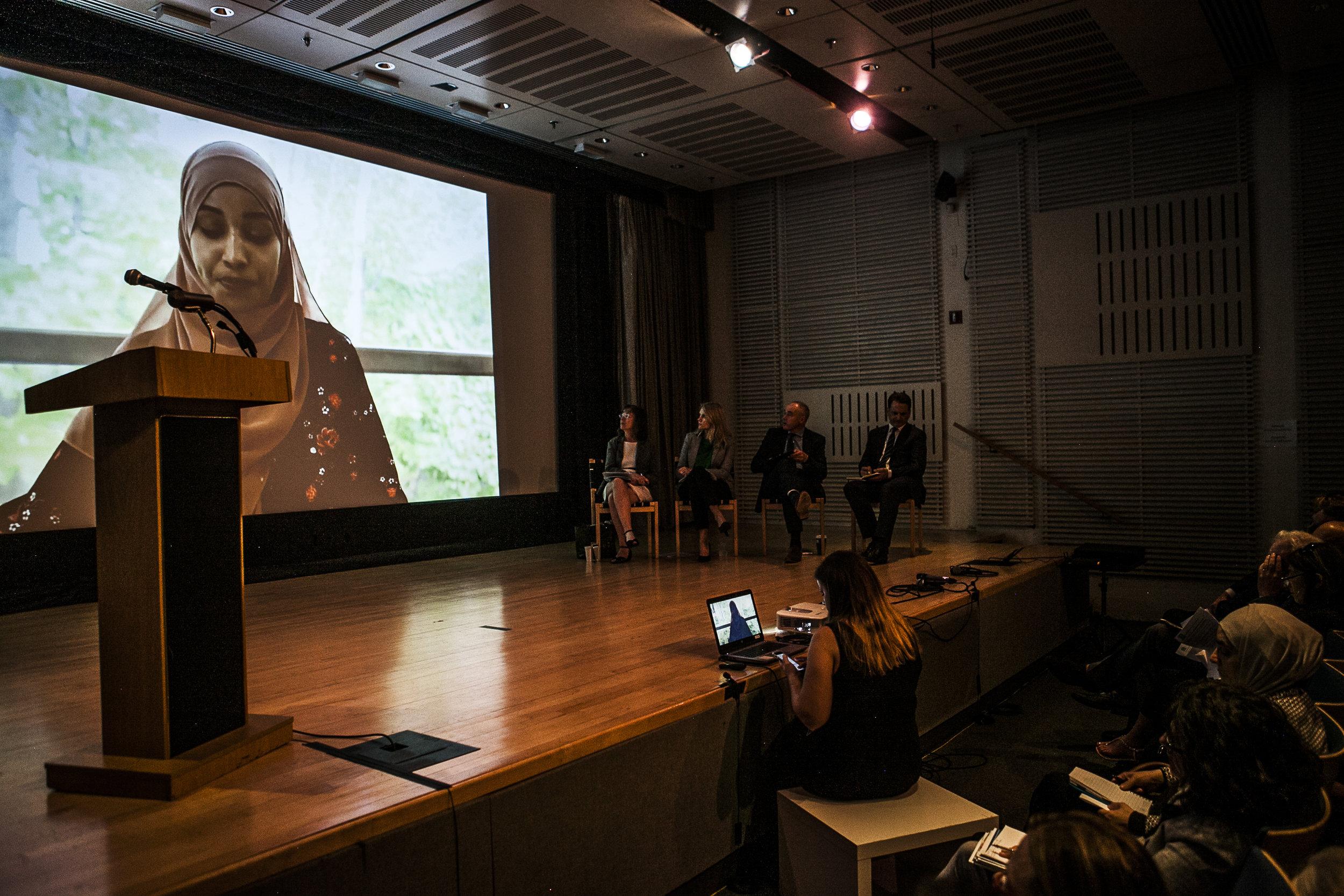 Opening panel, Fatuma Ismail