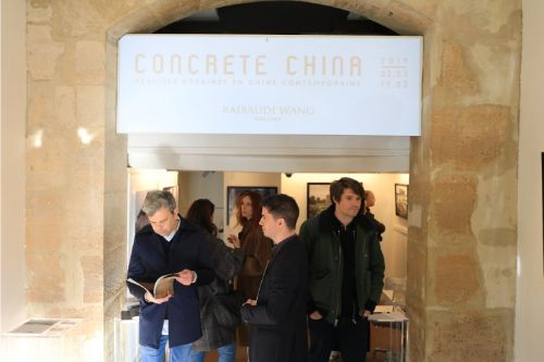 Opening of the exhibition  Concrete China