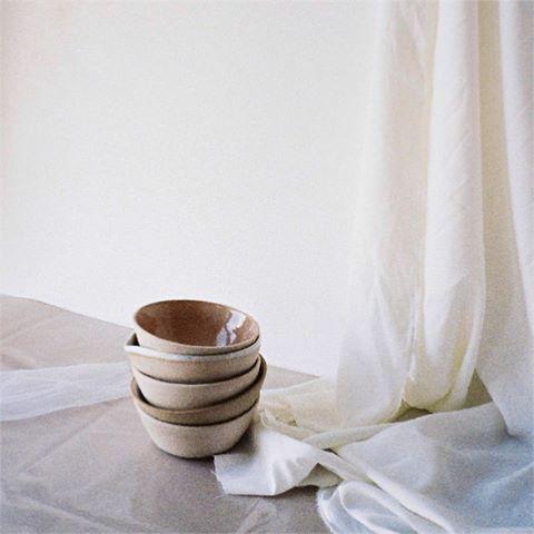 Bowl stack. These were for a @baserange dinner in London. . . #bowls #ceramicbowls #baserange #dinner #london #ceramics #wheelthrown #handmade #pottery #keramik #bikisceramics