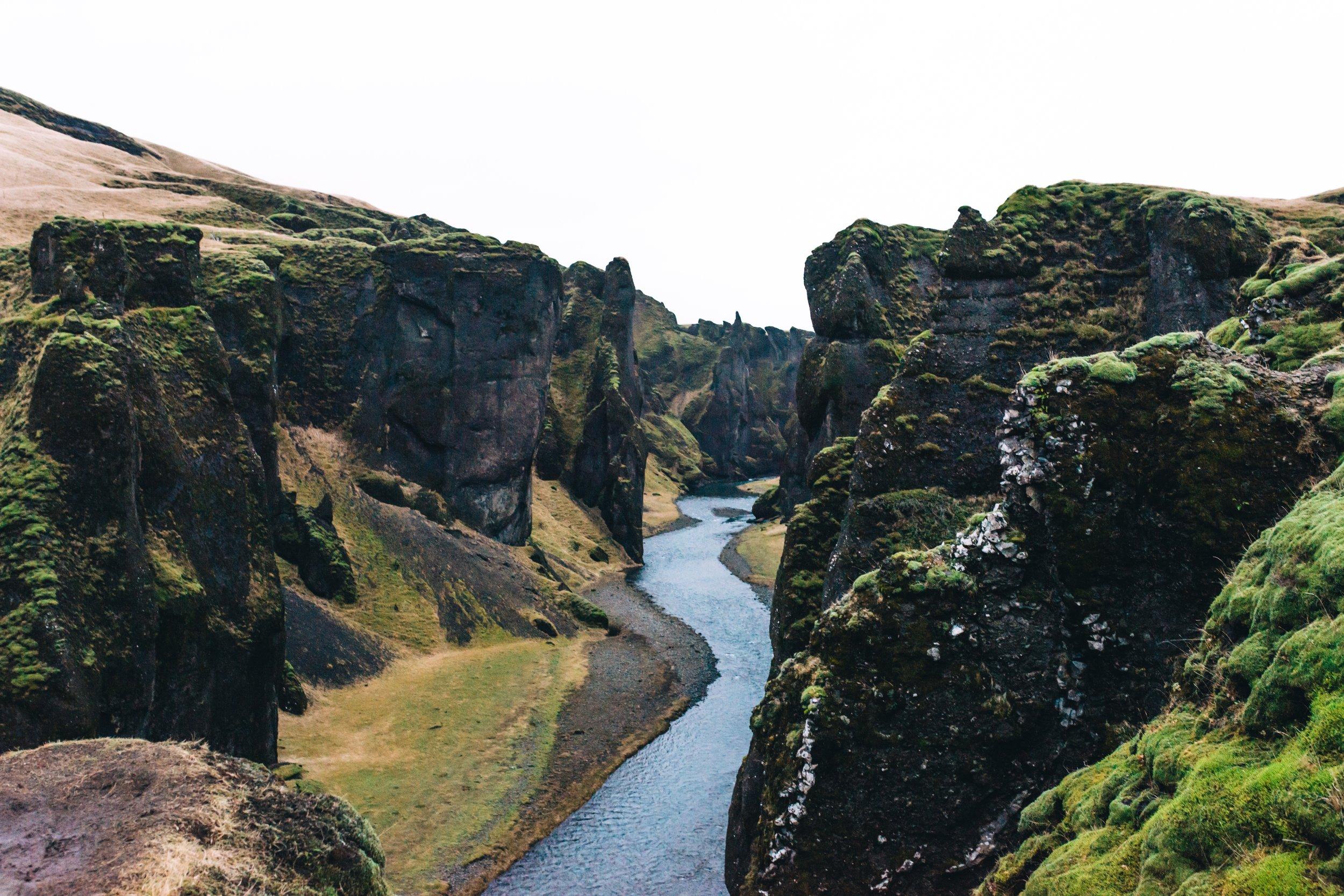 Fjadrargljufur Canyon, don't ask me how to pronounce that