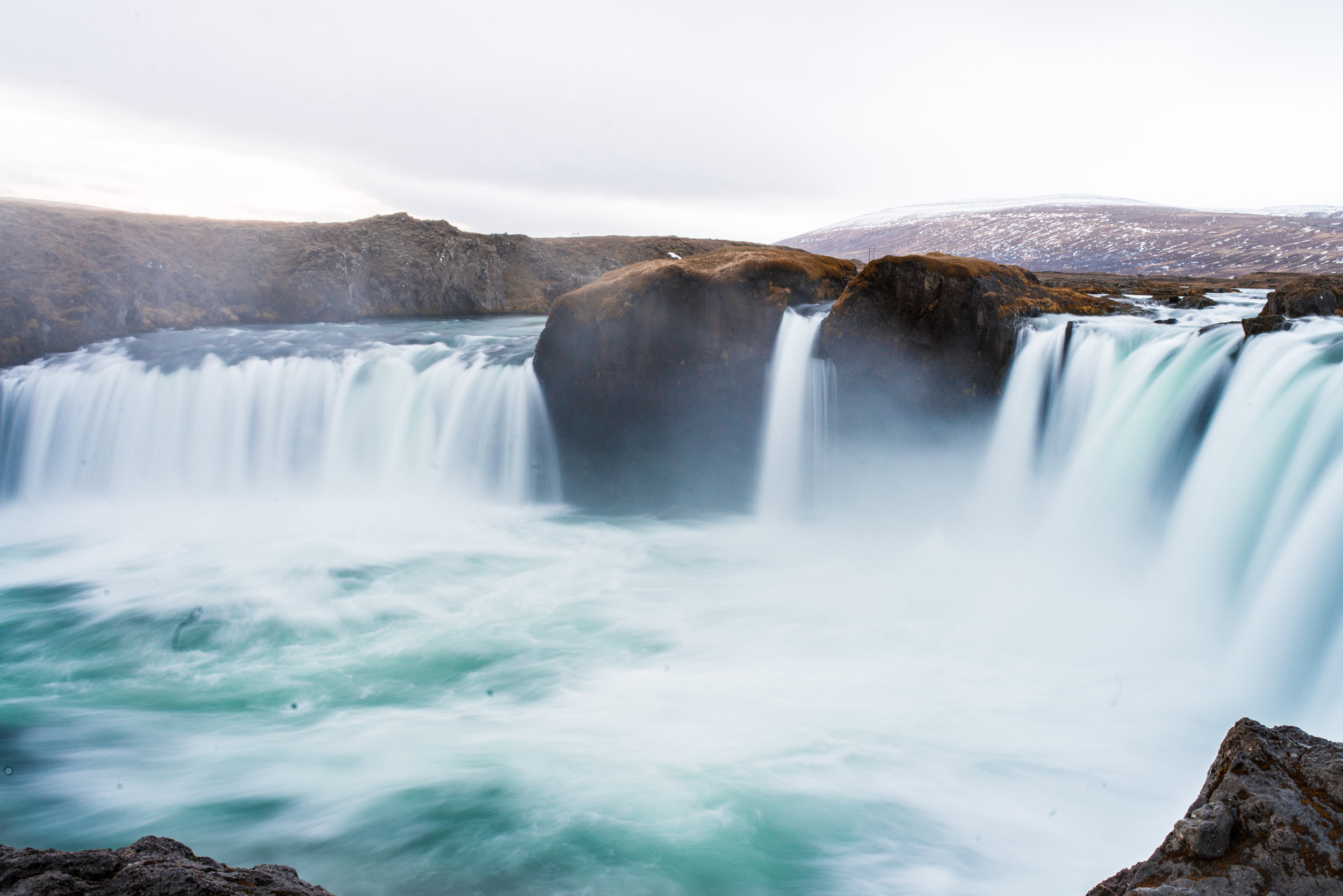 THE WATERFALL OF THE GODS