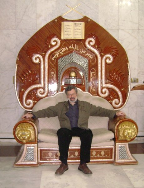Saddam Hussein's chair, Baghdad.