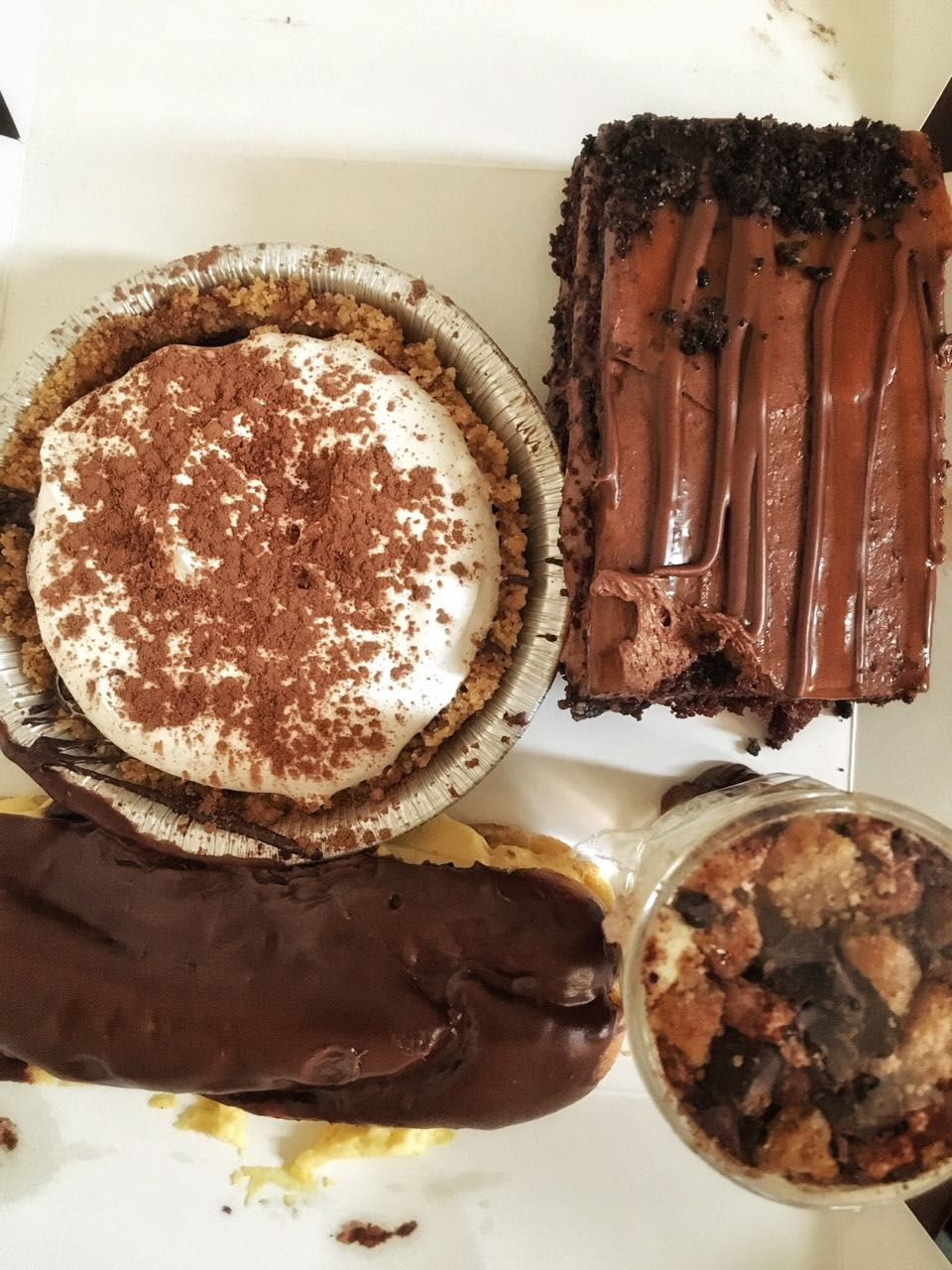 Desserts - I took a bunch of items for take away. Everything looked super delicious so wasn't sure which ones I should leave behind. Hardest decision of my life. Still need to try them so review pending.