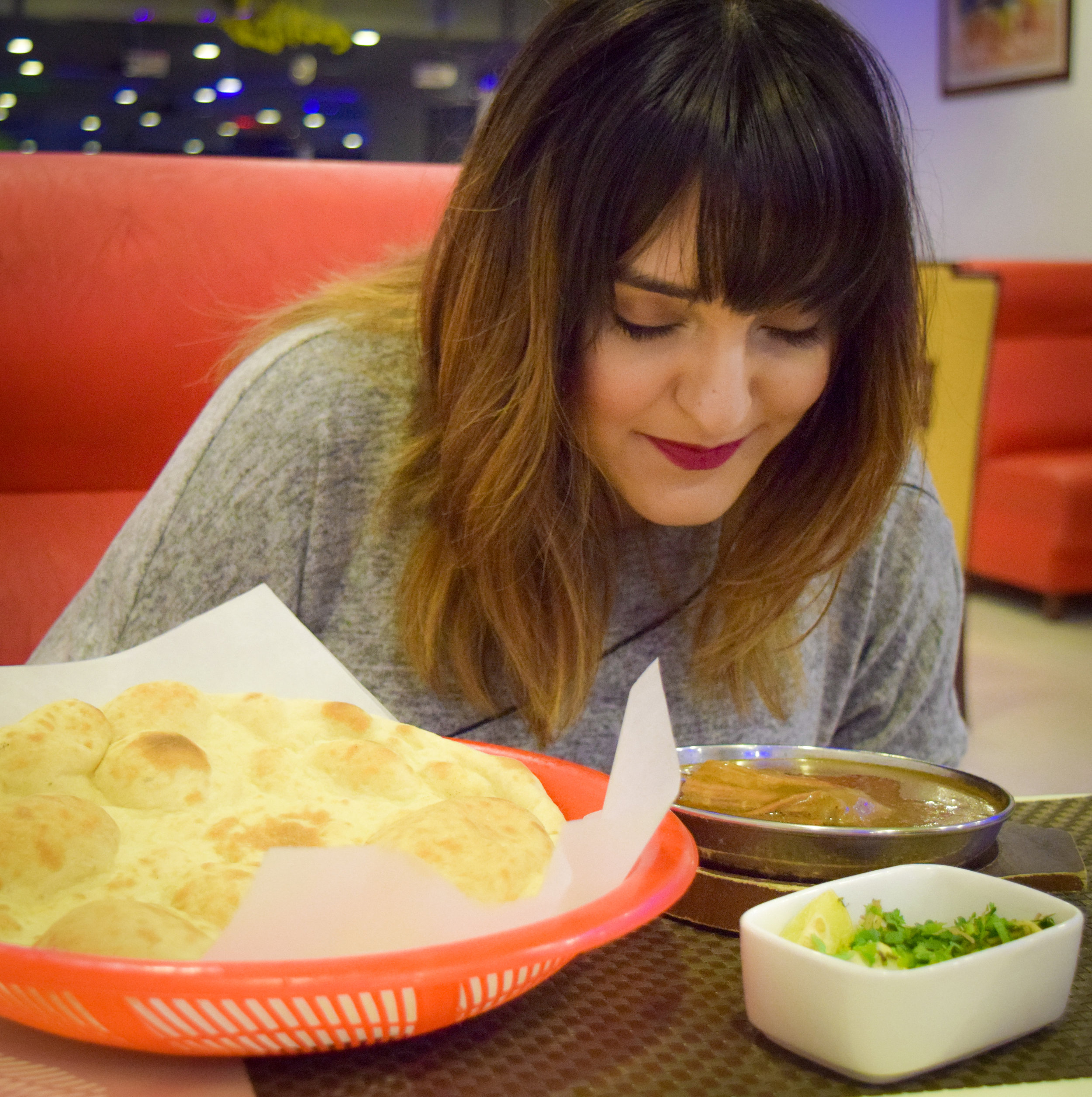 The Aromatic Fried Beef Nihari - This Nihari is bound to give you Cholestrol for sure. But as soon as you have the plate in front of you, the aroma envelopes you and you can't wait to devour the whole plate with no second thought. LOVED IT!