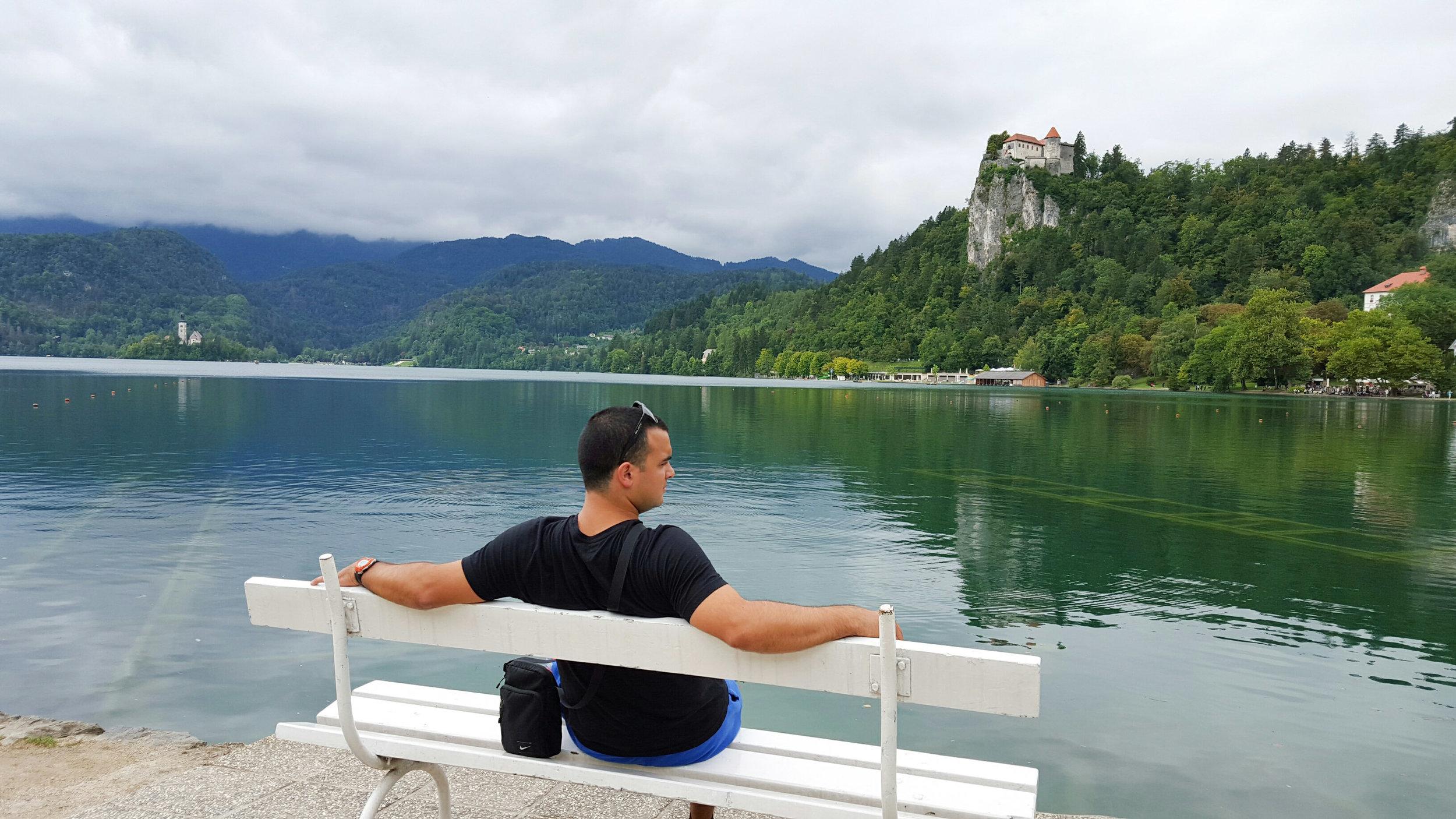 @global.hooperz, dreaming at Bled Lake, Slovenia