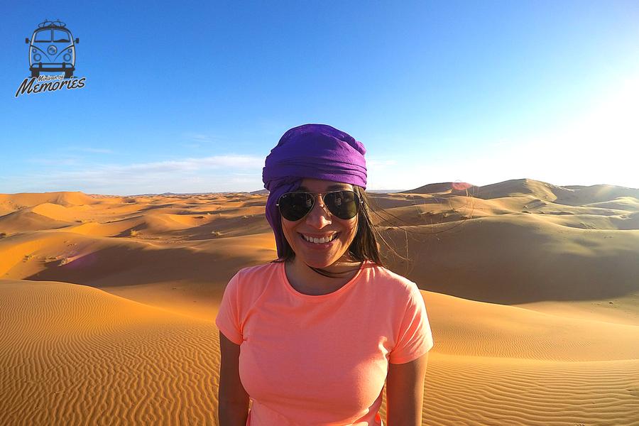 Raquel Torres, Sahara Desert, Morocco, 2015