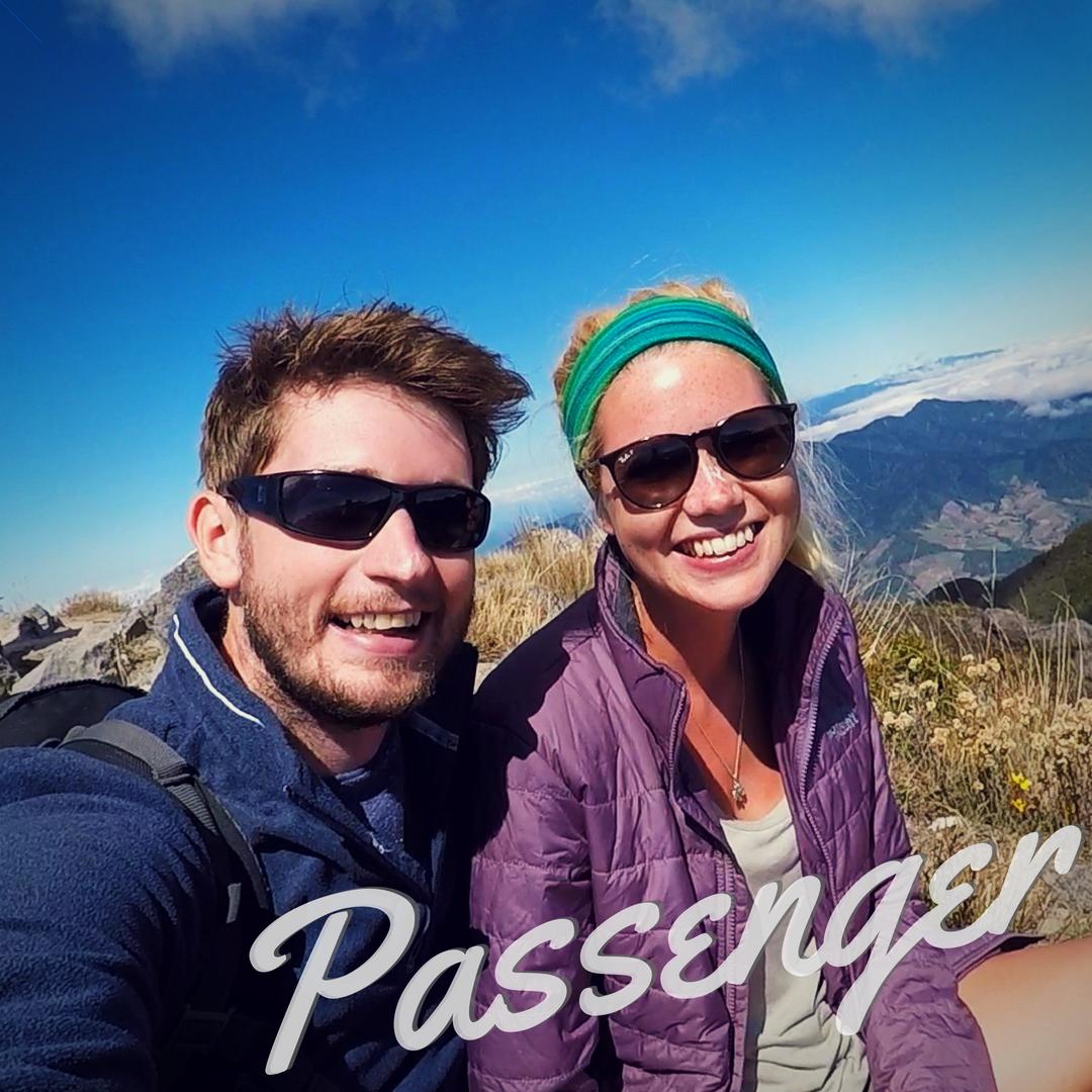 Passengers Nic and Kingsley