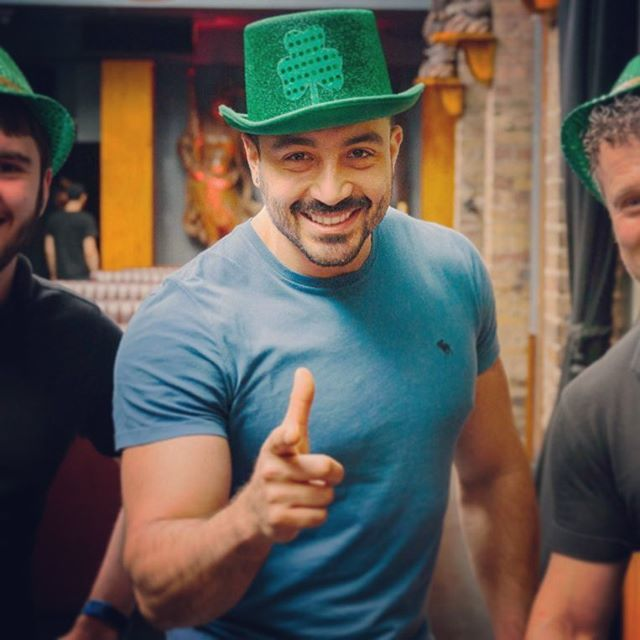 St. Patrick's day was FUN! . . . . . . #stpatricksday #stpatricks #gogreen #gogreen💚 #ireland #dublin #irishpride #mustache #menstyle #beardedvillains #moustache #mugshot #tagblender #justme #pognophile #hunk #picoftheday #borntobeard #gangster #iphonesia #beardedmen #scruff #instagay #instagood #instagoodmyphoto #bestoftheday #strong #moustachelove #thenexttopgay